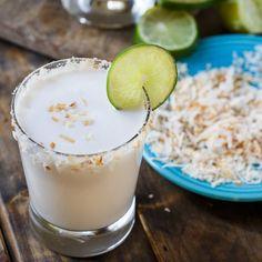 Coconut Margarita @FoodBlogs