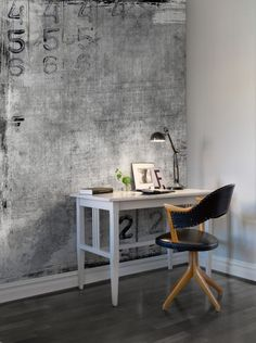 Find your perfect gray wall mural at Rebel Walls! High-quality premium gray wall murals customized to your wall. Free delivery and wallpaper paste inc Rebel, Textures Murales, Living Room Clocks, Scenic Wallpaper, Piece A Vivre, Inspiration Wall, Wall Treatments, Textured Walls, Wall Colors
