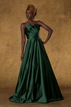 #THEIA #Fall #2013 - 881811: Hunter Satin Ball Gown With Encrusted Beaded Bodice