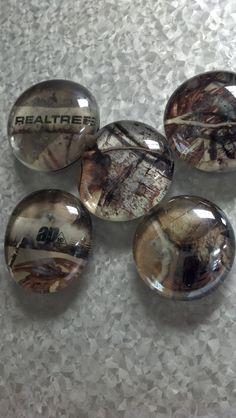 Realtree Camo Glass Magnet   #Realtreecamo