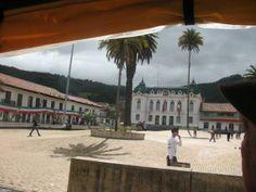 Plaza de la independencia Zipaquirá