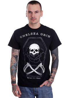 Chelsea Grin - Coffin - T-Shirt - Official Merch Store - Impericon.com UK