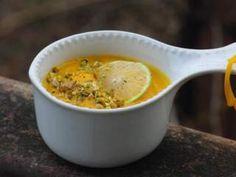Soupe à la carotte et à la patate douce