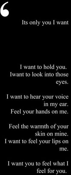Yes please. What I like about us is that we fill all these things for each other. We have this mutual desire for each other❤️