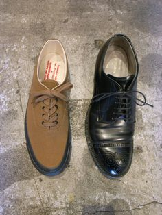 Wakouwa deck shoes & Alden captoes on the modified last from Anatomica