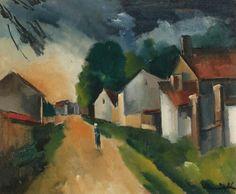 La Promenade.  De Vlaminck