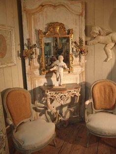 Tuscan design – Mediterranean Home Decor French Chic, French Decor, French Country Decorating, French Vintage, Vintage Style, French Country Cottage, French Country Style, Country Charm, French Farmhouse