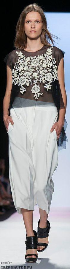 #NYFW BCBG MAX Azria Spring 2014 RTW http://www.nytimes.com/fashion