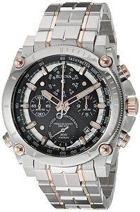 #Jewelry Bulova Men's 98B256 Precisionist Analog Quartz Two Tone Stainless Steel Watch