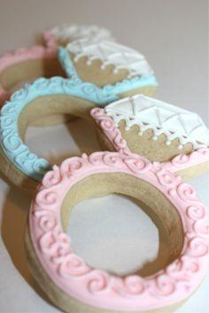 wedding ring cookie