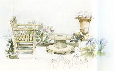 tuin   by Linda Vanysacker - Van den Mooter