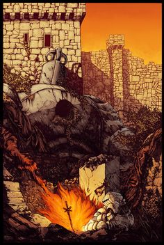 Sen's Fortress - Color by Malkamok.deviantart.com on @DeviantArt