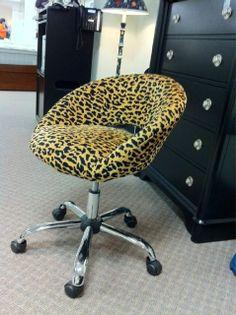 Cheetah print office chair Mobiliario y Sillas de Oficina