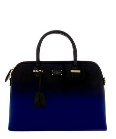 Maisy black & electric blue grab bag by PAUL'S BOUTIQUE on secretsales.com