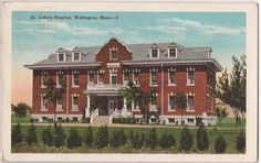 St. Luke's Hospital, Wellington, Ks. 1941