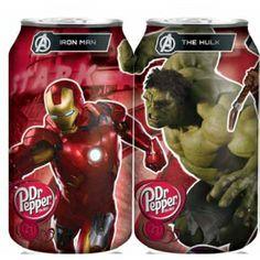 Dr. Pepper Avengers Cans....gotta get 'em all!