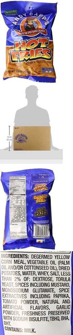 Chips 179179: Andy Capp S Hot Fries 1.5Oz Bags Pack Of 48 Potato Chips Crisps, New -> BUY IT NOW ONLY: $128.17 on eBay!
