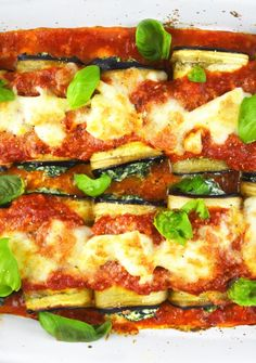 Try these Eggplant Roll-ups stuffed with spinach and ricotta for a lighter and absolutely delicious dinner, they can also be prepped in advance to make weeknight meals even easier and tastier! www.insidetherustickitchen.com