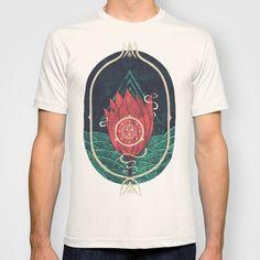 Pulsatilla Patens T-shirt by Hector Mansilla - $18.00