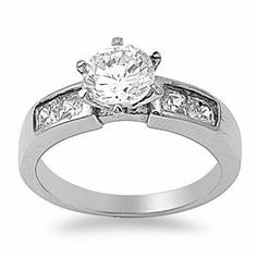 8mm 2.50ctw LARGE Stainless Steel Round Diamond CZ Bridal Engagement Wedding Band Ring 5-10 THE ICE EMPIRE. $13.95. STYLE: Round Diamond CZ Bridal Engagement Wedding Band Ring. A GREAT WEDDING BAND RING OPTION, that will last of Decades!. FIT: VERY COMFORTABLE. CENTER STONE WIDTH: 8MM (2.50CTW) / BAND WIDTH: 2MM. METAL: 316L STAINLESS STEEL