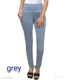 Jeans Trendy Solid Denim Jean Fabric: Denim Size: 30 in, 32 in, 34 in, 36 in, 38 in, 40 in Length: Up To 38 in Type: Stitched Description: It Has 1 Piece Of Women's Jean Pattern: Solid Sizes Available: 28, 30, 32, 34, 36, 38, 40   Catalog Rating: ★4.2 (8483)  Catalog Name: Stylish Solid Denim Jeans Vol 6 CatalogID_129016 C79-SC1032 Code: 373-1057574-