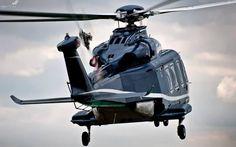 An AgustaWestland AW139.