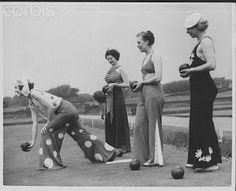Kitten Vintage: 1930s Fashion History & Inspiration - Beach and Lounging Pyjamas