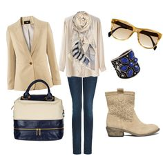 navy and light camel