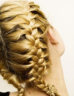 French Braids for Short Hair | french braids