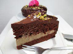 Vegan Gluten-free Decadent Chocolate Mocha Cake