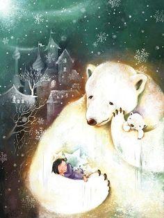 Meng inverno coisas ilustrador hibernando no inverno é usado ~~