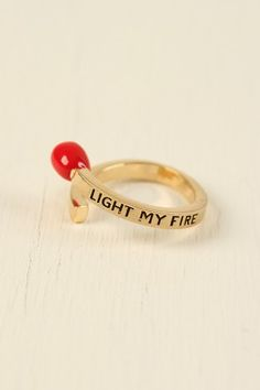Light My Fire Single Ring $10.10