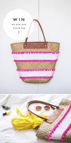 ⛱ pom pom bag...how to...