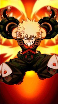 Katsuki Bakugo (My Hero Academia) Manga Anime, Fanarts Anime, Anime Guys, Anime Art, Boku No Hero Academia, My Hero Academia Manga, Tsundere, Hero Academia Characters, Anime Characters