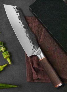 Forging Knives, Forged Knife, Vegetable Slice, Best Chefs Knife, Butcher Knife, Japanese Kitchen, Handmade Kitchens, Cool Knives, Handmade Knives