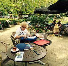 kantcafe Homburg, Outdoor Furniture Sets, Outdoor Decor, Amsterdam, Baby Strollers, Children, Home Decor, Atelier, Baby Prams