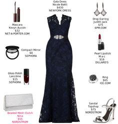 Lace and embellishment makes this elegant dress pop.  @newyorkdress @dillards @nordstrom @sephora @netaporter