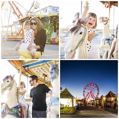 Fair session, colorful family portrait Fair Photography, Family Portraits, Carnival, Fair Grounds, Colorful, Inspiration, Travel, Family Posing, Biblical Inspiration