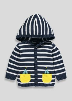 5be161de2 Grey Monster Face Hooded Jumper (9 months - 6 years)