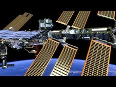 """This fly around of the International Space Station (ISS) is displayed in the """"Moving Beyond Earth"""" exhibition at the National Air and Space Museum on the National Mall in Washington, DC. Displayed as a 30ft x 18ft projection, the HD animation highlights the major components of the ISS.Video courtesy of NASA's VR Lab."""