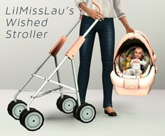 demonwolfgoodies:  Sorry about this not so pretty upload preview. I am being the laziest So lilmisslau ha this CCWish to take out the seating of the stroller from Generations to fit with yosimsima's carseat object for a kind of DIY baby stroller for stories. Easy to do so I did it :). It seems to work out for her.  Download Found in Misc decor and Kids>Toys  3 CASTable channels with 1 preset Should work with any carseat item that can fit it but it needs an OMSP to set up. This has no…