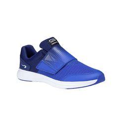 Încălțăminte Alergare AT Easy Albastru Copii KALENJI - Decathlon.ro Barefoot Running, Easy, Indigo Blue, Velcro Straps, Courses, Drop, Athletic Shoes, Adidas Sneakers, Tennis