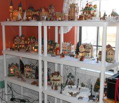 My new way to display my Christmas village
