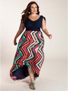 Hello beautiful! Jordan Plus Size Maxi Dress - Day Dresses by IGIGI