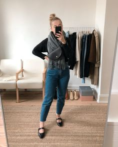 What I Wore This Week: November 11th - 17th - JESS WITH LESS Simple Wardrobe, Eco Clothing, Wide Leg Denim, Sartorialist, Classy Chic, Fashion Group, Vintage Jeans, Minimal Fashion, Ethical Fashion