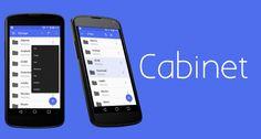 Cabinet, un explorador de archivos minimalista y con interfaz Material Design http://www.elandroidelibre.com/2014/08/cabinet-un-explorador-de-archivos-minimalista-y-con-interfaz-material-design.html
