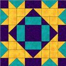 PatchworkSquare.com has many free patchwork block pdf downloads