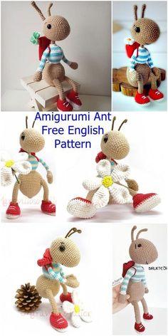 Amigurumi Ant Free Crochet Pattern - Crochet.msa.plus