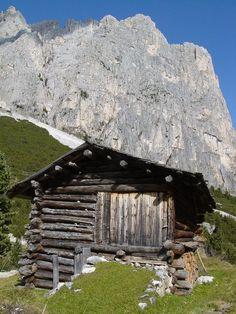 """Baita al Gardeccia""  Trentino  http://www.visittrentino.it/"
