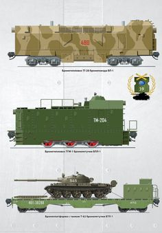 Soviet trains and tank flatbed transport car. Railway Gun, T 62, Military Armor, Rail Car, Armored Fighting Vehicle, Military Equipment, Panzer, Armored Vehicles, Dieselpunk